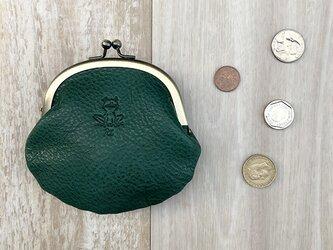 [カエル] がま口財布の画像