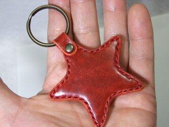 星のキーホルダー ルガト赤の画像