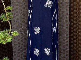 0004セミオーダー 着物リメイク 浴衣をワンピースにリメイク kimono     *製作見本*布地を別途お選びください。の画像