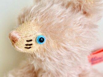 シャトン・コットンピーチ 子猫のぬいぐるみ 猫 ネコ ねこ プレゼント ギフト 贈り物の画像