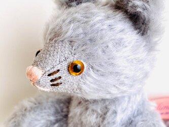 シャトン・アラザン  子猫のぬいぐるみ 猫 ネコ ねこ プレゼント ギフト 贈り物の画像