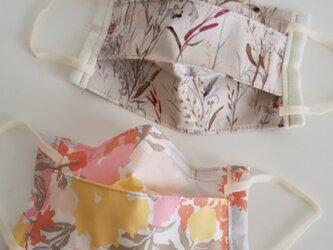 マスク 2枚セット ART GALLERY FABRICS & moda【コットン&ダブルガーゼ】の画像