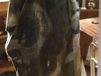 古布鯉のぼりからVネックのワンピースの画像