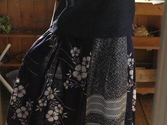 浴衣反物からギャザースカートの画像