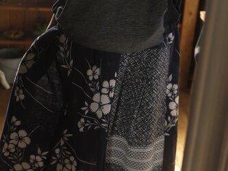 久留米絣反物からトップスの画像