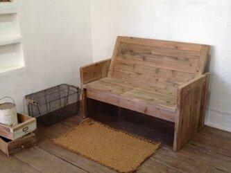 数量限定 OMB 古材 ベンチ アンティーク シャビー チェアー 椅子 イス / オーダーメイドの画像