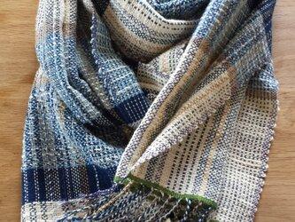 【手織り】木綿のストール#mさまオーダー品の画像