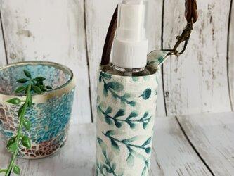 除菌スプレー用ボトル&ケース●植物の画像