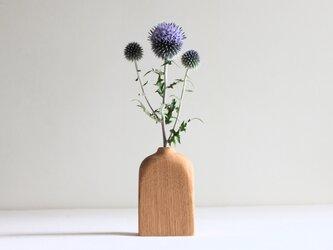 木の花瓶【クリ】の画像