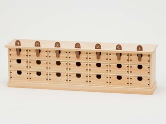 ヒノキの薬箱の画像