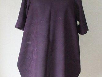絽(夏用着物)からバルーンチュニック 絹の画像