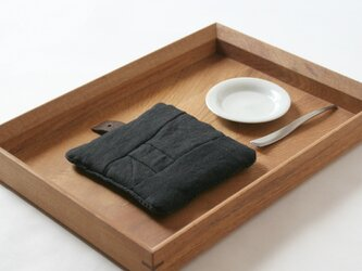 Pot Mat [ビターチョコレート]リネンの画像