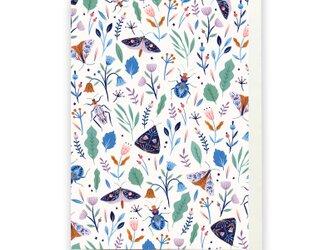 「花盛り」グリーティングカード(105mm x 148mm)の画像