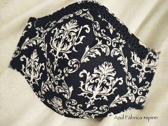 立体マスク:victorian (black)の画像