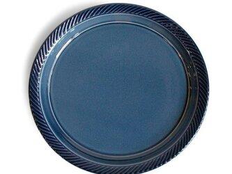 blur 24cmプレート Blueの画像