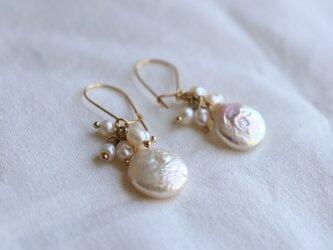 pearl tawawa earringsの画像