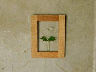 壁掛け花入れ 木の一輪挿し②の画像