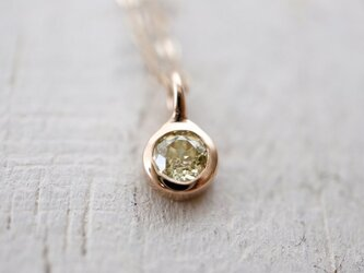 K10 0.2ctダイヤモンド ネックレスの画像