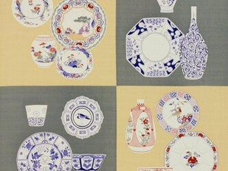 風呂敷  包み 木綿 ふろしき  陶磁器合せ 京都 綿100% 105cm幅 贈り物の画像