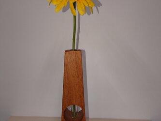 木製一輪挿しの画像