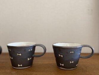 ガーリーカップ白黒の画像