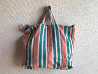 3Way Big bag Vintage メロン × グリーンの画像
