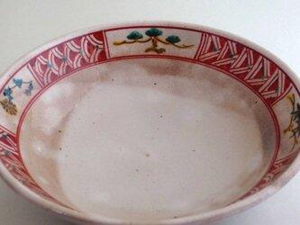 赤絵平鉢(松竹梅)aの画像