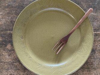 ヘリンボーン皿green1の画像