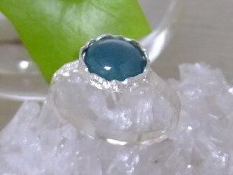 グランディディエライト*925 lace ringの画像