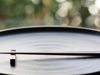 煤竹拭漆箸/24cm(すすたけふきうるしはし)の画像