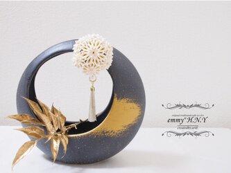 【本金箔使用】tsumami簪 KODEMARI⦅金箔-kinpaku-⦆の画像