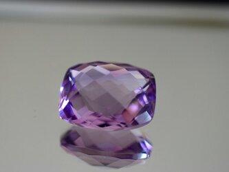 1-81 上品 一点物 大粒天然アメジスト 四角形 長方形 アメシスト 紫水晶 2月誕生石 天然石 ルース 裸石の画像