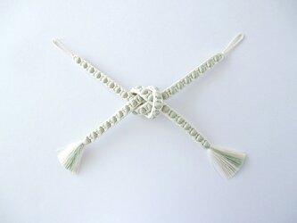 【水玉組】手組み羽織紐の画像