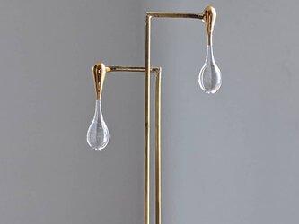 rain pierce/earring goldの画像