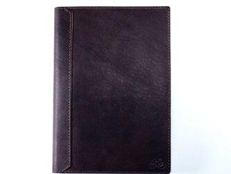 【限定】A5サイズのノートカバー(ココア)の画像