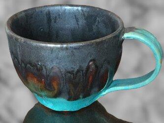 [送料込] 時に銀に輝くコーヒーカップの画像