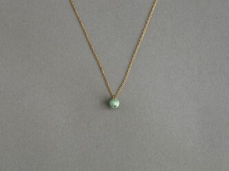 CN-001 tsubu necklace /mintの画像