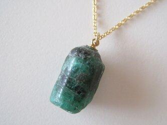 エメラルドの原石ネックレス/Brazil 14kgfの画像