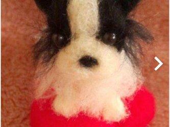 羊毛フェルトハンドメイドボーダーコリーの画像