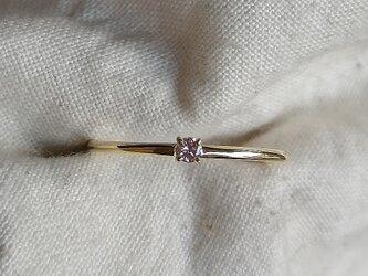 ピンクダイヤモンドシードリングの画像