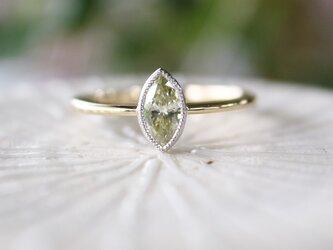 【S.S様お取り置き】マーキスダイヤ指輪の画像