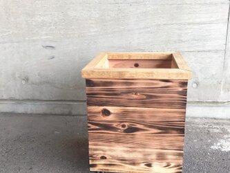 木製 キャスター付き鉢カバー10号サイズの画像