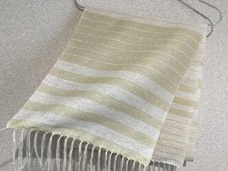 手織りストール SU16の画像