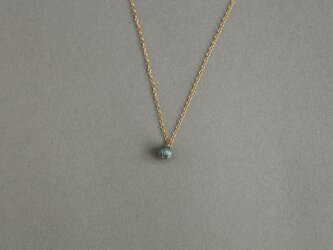 CN-001 tsubu necklace /cementの画像