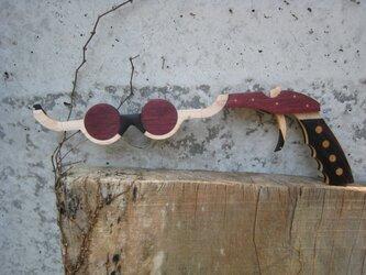 ゴム鉄砲:メガネ3の画像