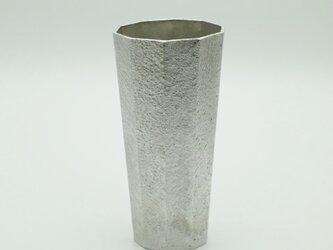 錫製 コップ (十面)の画像