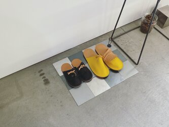 革と鉄のタイル 【 ai-cha//savor 】の画像