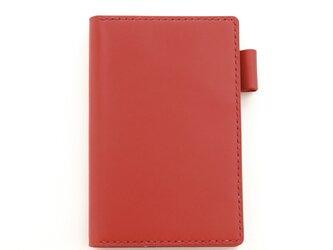【レッド】ポケットサイズのシステム手帳の画像