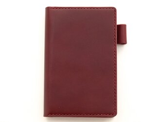 【ワイン】ポケットサイズのシステム手帳の画像