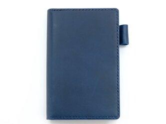 【ブルー】ポケットサイズのシステム手帳の画像